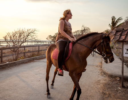 Gallop through the sunsets