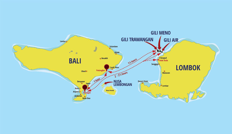 the gili island